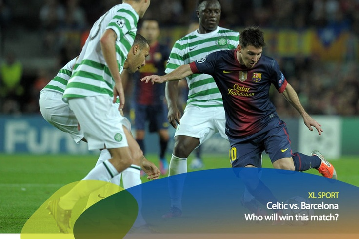 Plenty of surprises in this Champions League match between Celtic and Barcelona!    *as posted on XL Rame