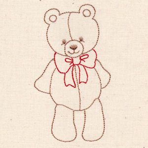 Christmas Teddies - Free -  Click to download