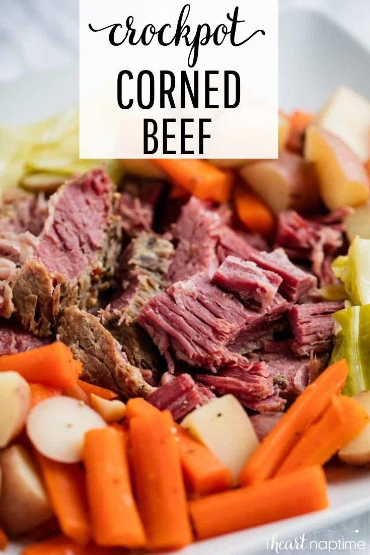 Easy Crockpot Corned Beef And Cabbage I Heart Naptime Recipe Cooking Corned Beef Corned Beef Recipes Corn Beef And Cabbage