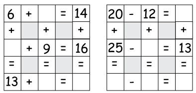 math equation puzzle