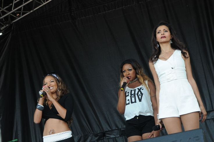 The Honeyz performing at the South Tyneside Summer Festival FREE Sunday Concert.