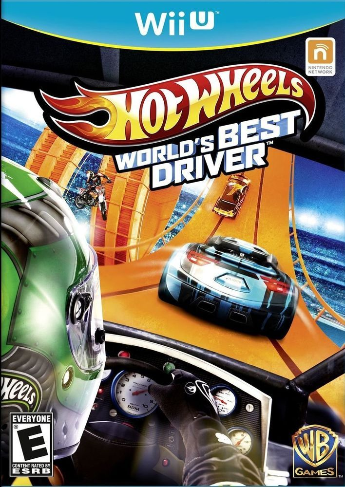 HOT WHEELS WORLDS BEST DRIVER WII U in Video Games & Consoles, Video Games | eBay
