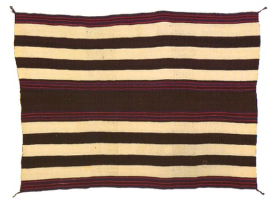 Navajo Blanket. First phase. Ca. 1845