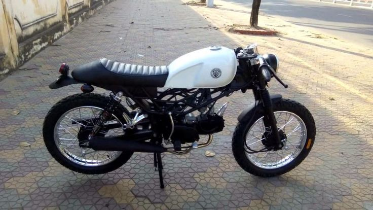 Honda Win 100 cafe racer