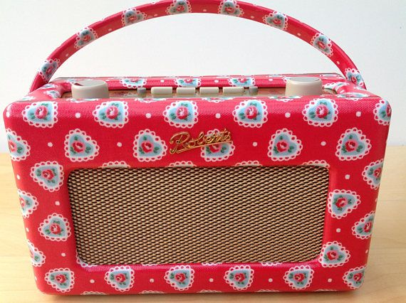 Roberts Revival DAB Radio in Cath Kidston Sweetheart Rose