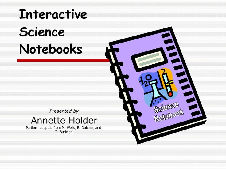 Interactive Science Notebook Introduction for students/teachers