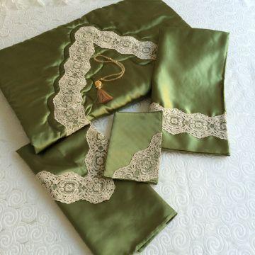 Saray Seccade Takımı | Yeşil