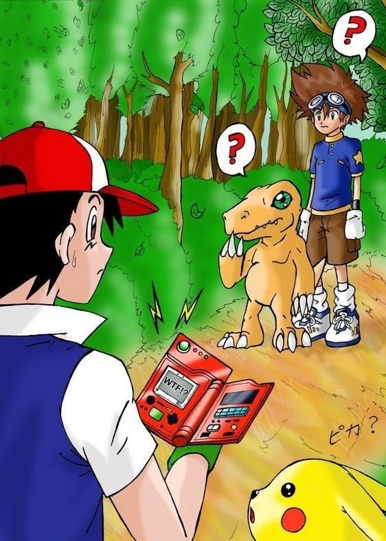 undefined | animation amine cartoon | Pinterest | Digimon, Pokemon ...