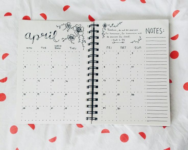 Dot Calendar Bullet Journal : Best bujo images on pinterest bullet journal