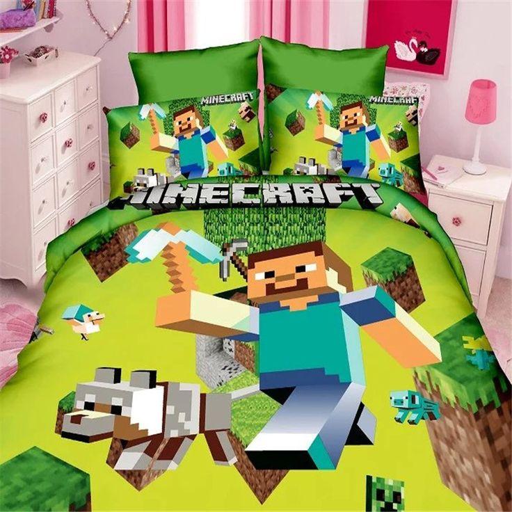 popular game boys bedding set 2/3pcs kit of duvet cover bed sheet pillow case kit/twin/single bed linen set - free shipping worldwide