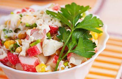Salade mexicaine au maïs et au crabe | Coup de Pouce