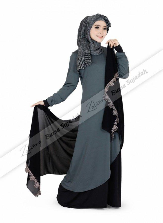 Alyana Tunique, baju panjang wanita berbahan spandex dengan warna atlantic gray yang soft & simple. Tunik all size ini didesain dengan variasi kain berwarna hitam yang tampak fashionable, sehingga membuatnya cocok untuk dijadikan busana elegan Anda di acara santai maupun acara formal.
