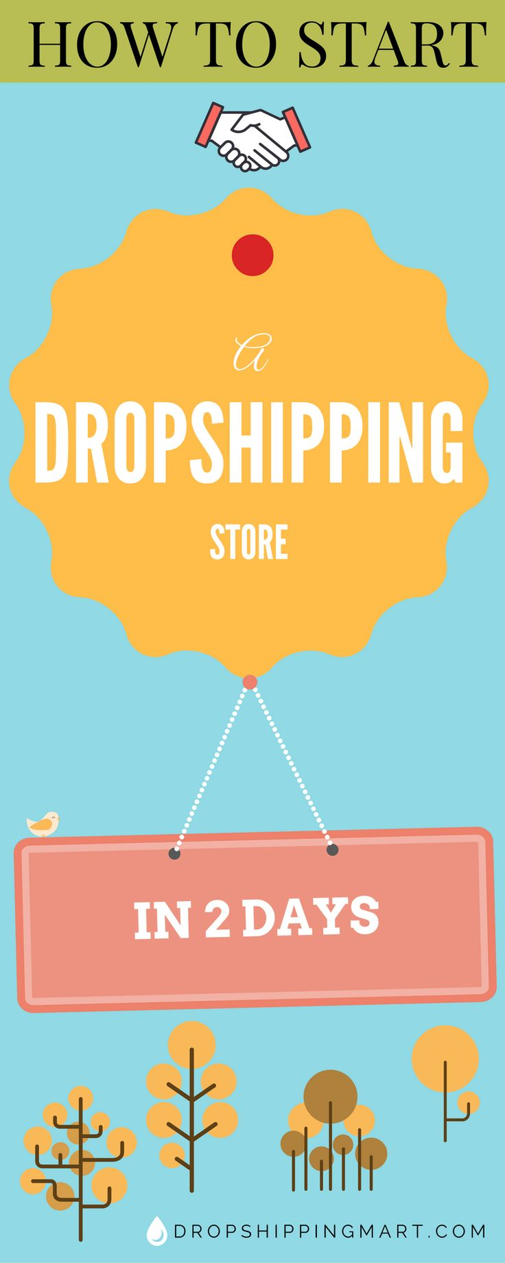 Plus, if you decide you need help writing a blog post, for example, you can take advantage of the online freelance community to get the work done at an affordable cost. #dropshipping