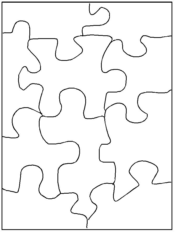 903 best printables images on Pinterest - blank puzzle template