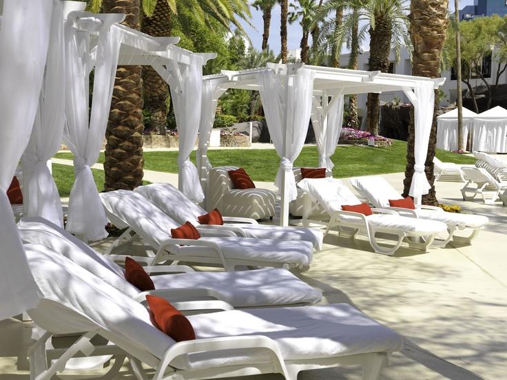 Tropicana Las Vegas Pool Cabanas | Photo Gallery | Carefree Trip