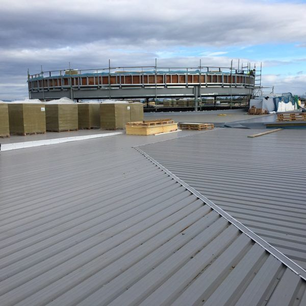 Premium Single Ply Roofing For The First Joint Faith Campus Single Ply Roofing Roofing Campus