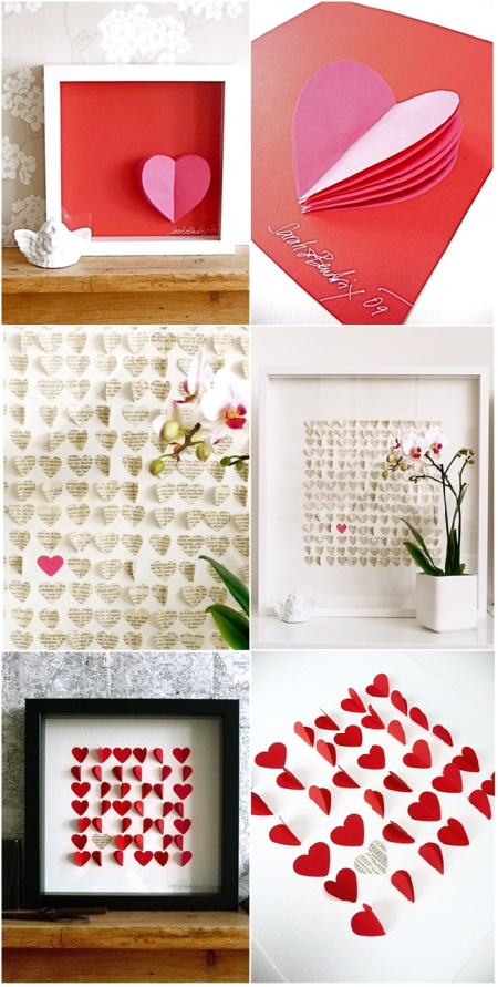 fun valentine idea - or try with any hole-punch shape