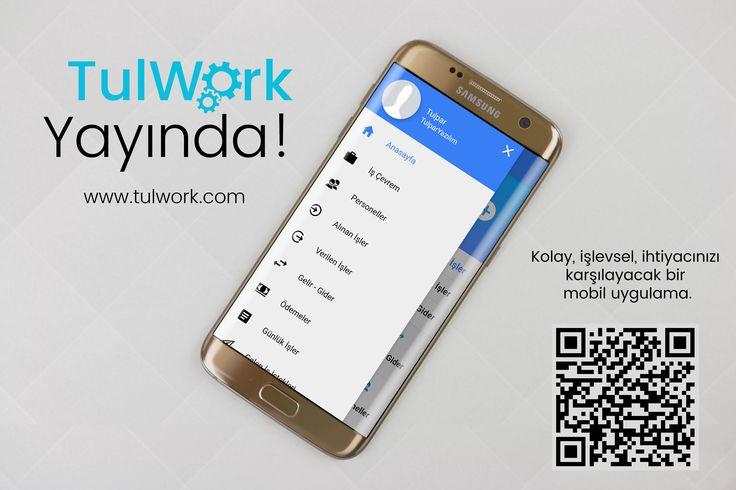 TulWork hizmetinizde! Yevmiye, puantaj, gelir - gider taikibi, alınan - verilen işler, günlük işlerinizi takip etmenize yardımcı olur.  www.tulwork.com #tulwork #tulparyazilim
