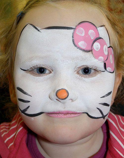 Trucco di Halloween per bambini da Hello Kitty