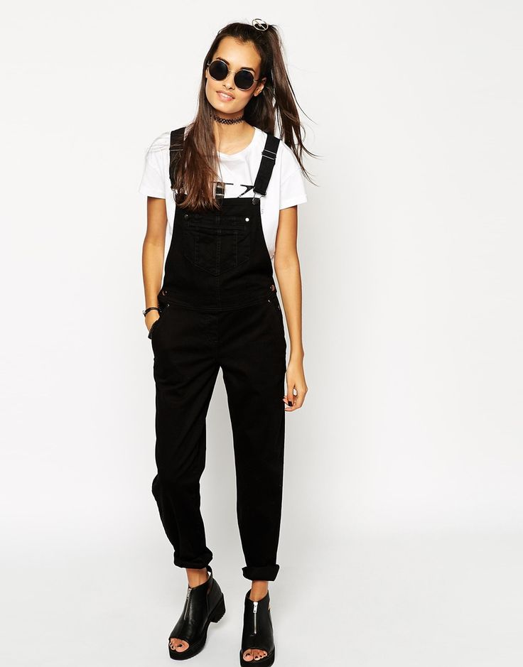 Image 4 of ASOS 90s Style Overalls