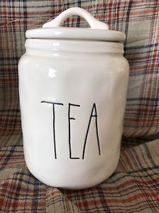 NEW RAE DUNN MAGENTA TEA CANISTER  | eBay