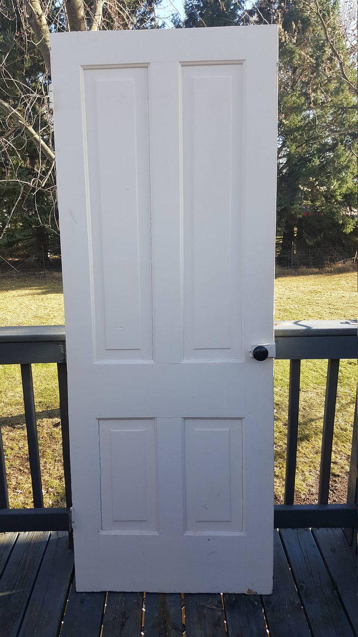 17 best ideas about 4 panel doors on pinterest diy 4 - 6 panel solid wood interior doors ...