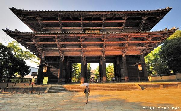 Nandaimon Gate, Todai-ji Temple, Nara