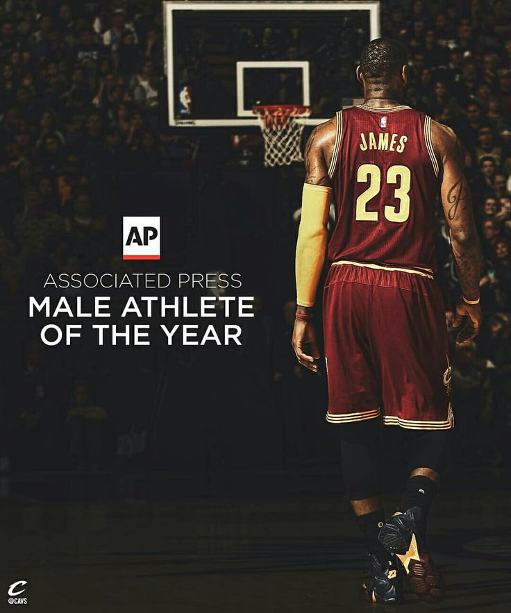 Congratulations @kingjames on being named AP Sports Male Athlete of the Year!