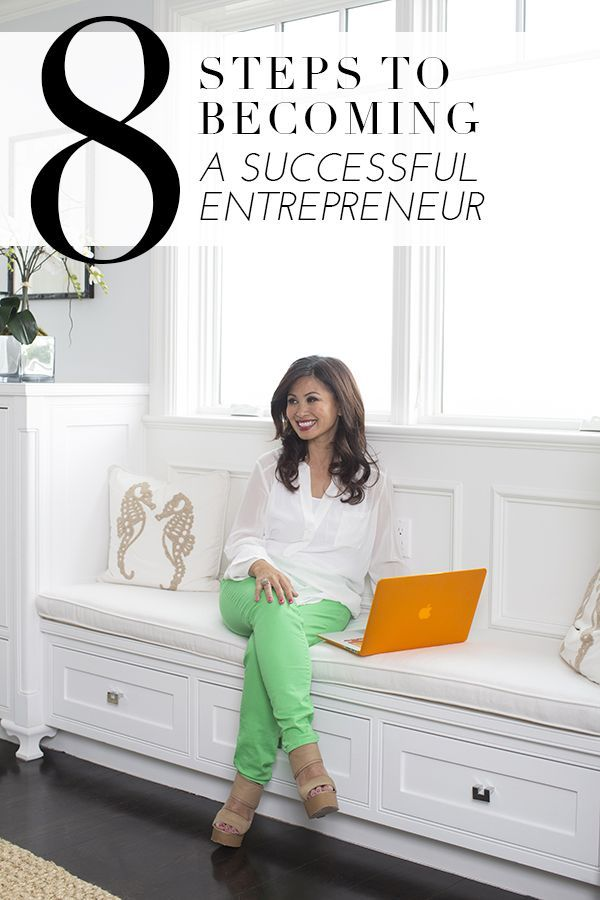 8 steps to becoming a successful entrepreneur