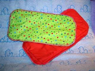 For my friends who want to do cloth diapers! How to sew diaper inserts and you'll never guess the secret absorbent material inside. This pattern is for gDiapers but you could probably make cloth training pant inserts too.
