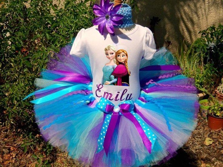 Conjuntos Vestidos Tutu Para Niña Frozen Elsa Anna Peppa Pig