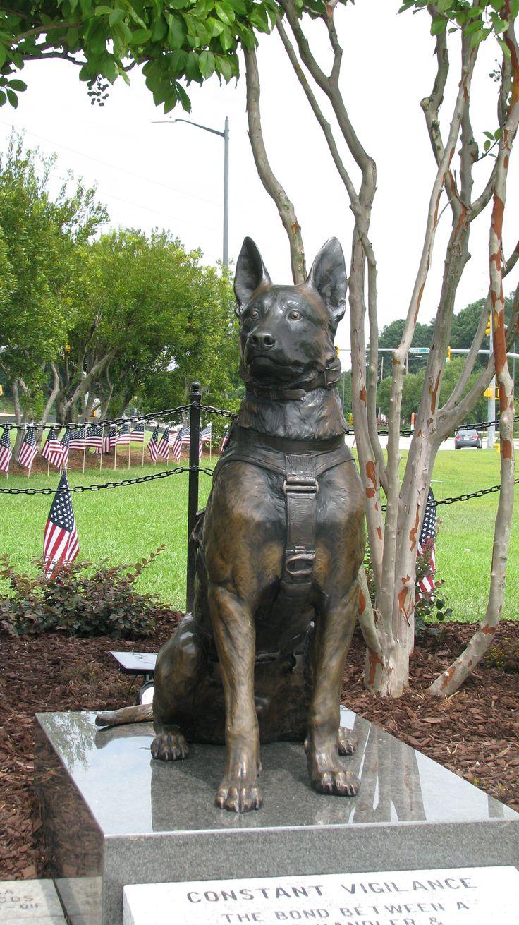 Lena Toritch Master Sculptor Creating Sof K9 Memorial