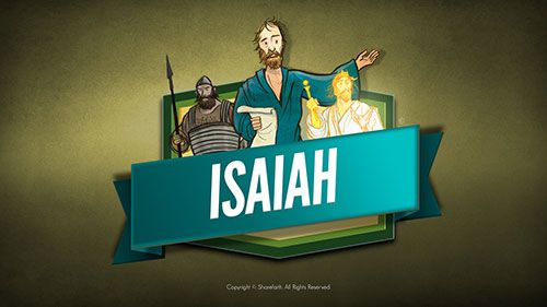 The Prophet Isaiah Kids Bible Lesson: This Sharefaith Kids Sunday school lesson focuses on life and message of the prophet Isaiah. Author of the old testament book which bears his name, the prophet Isaiah wrote some of the most amazing prophesies contained in all the Bible. His inspired words spoke of Jesus the Messiah, the future reign of Christ and a glorious vision of the new Heavens and Earth. This classroom ready slideshow is the perfect teaching resource for your Sunday school lesson.