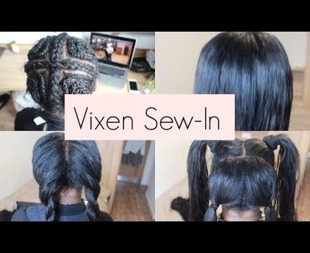 """Ever heard of the """"Vixen sew-in weave""""? If you follow various protective styling or weave-magic Instagram or Pinterest pages, you might have heard of this look. Essentially, the Vixen sew-in is a n..."""