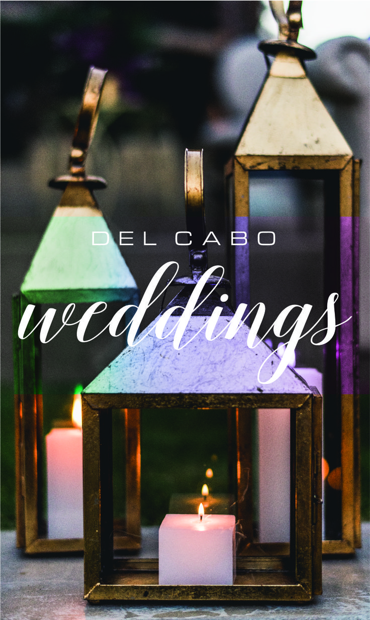 Unique décor ideas! Visit our board and inspire yourself with glam weddings ideas and feel like a Hollywood bride in Cabo!