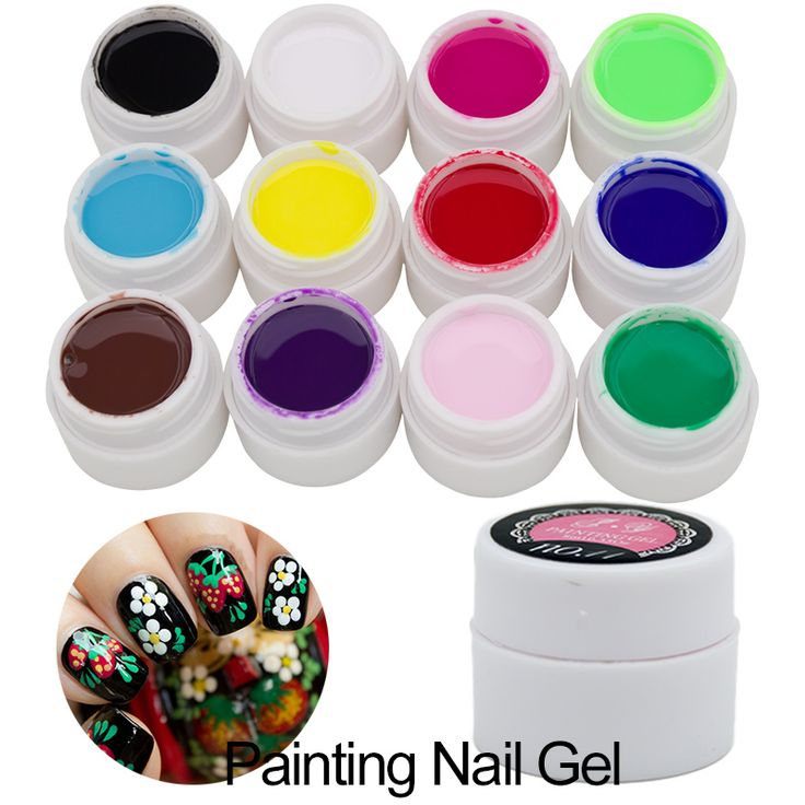 12 Colour Bio Gel Nail Art Glue 3D Sculpture Carved Glitter Painting Soak Off UV Gel Acrylic Modelling Manicure Decor #>=#>=#>=#>=#> Click on the pin to check out discount price, color, size, shipping, etc. Save and like it!