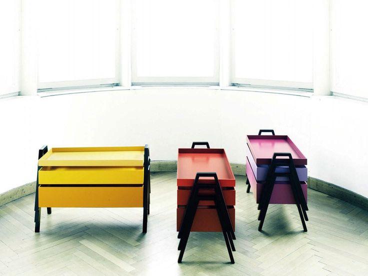 TOP10 | Ten space-saving ideas | Stack Small Table, Nathan Yong, Living Divani, 2012 | #designbest @livingdivani