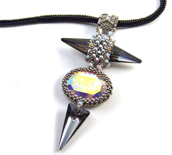 101 best beading pendants images on pinterest bead jewellery chartreux pendant beading kit aloadofball Image collections