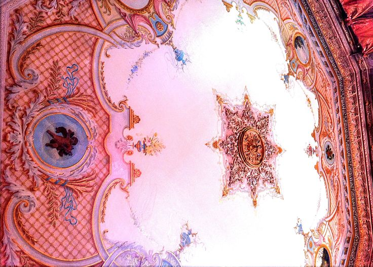 Ceiling in the house of a Russian nobleman, Trabzon