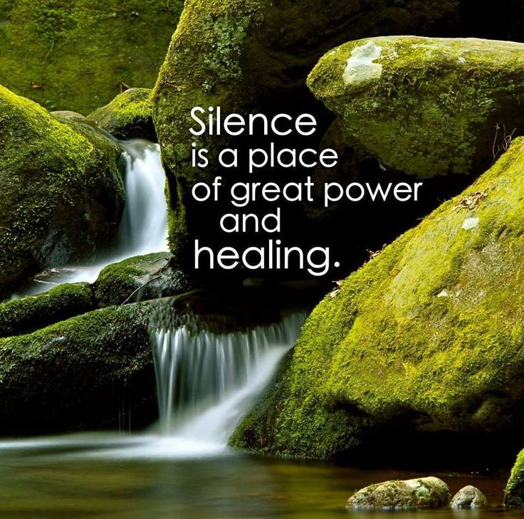 ❤️☀️ Reflection while in Nature ~ increases the Healing Power…