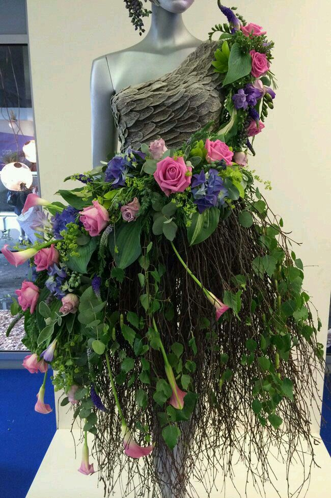 Fairy Floral Display at entrance of event
