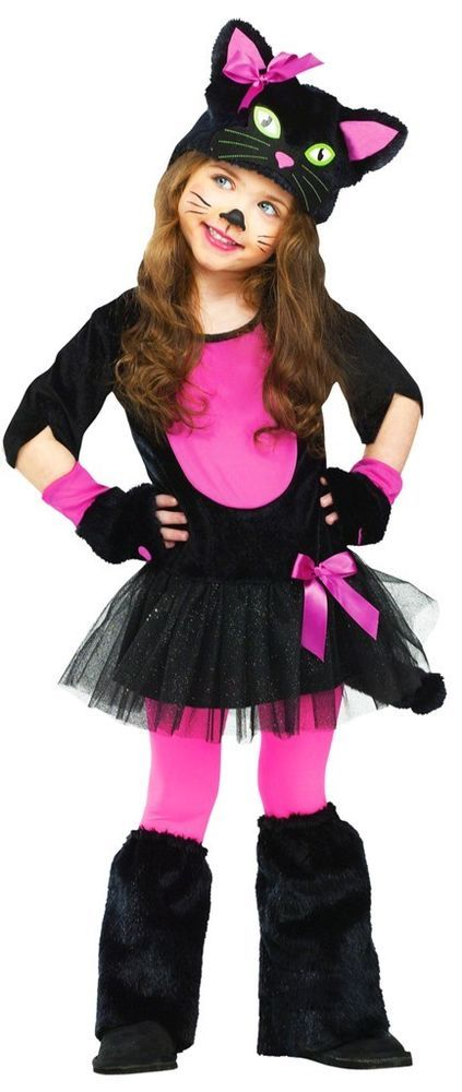 Miss Kitty Cat Toddler Costume #FunWorld