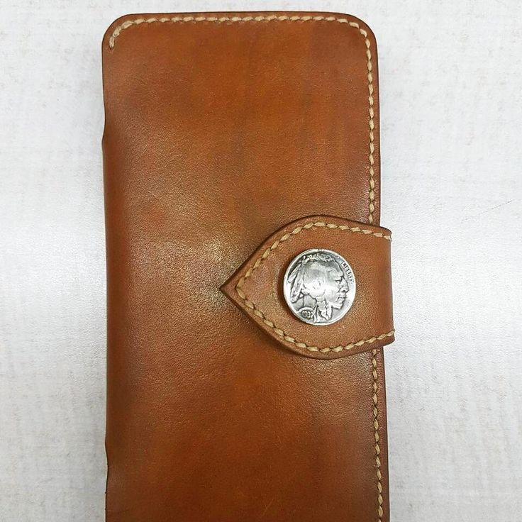 """19 Likes, 1 Comments - AZé Leatherworks (@azeleatherwork) on Instagram: """"""""PHONE WALLET"""" • ==== Material Descriptions : - Indonesian Vegetable Tanned Leather - Hand dyeing…"""""""