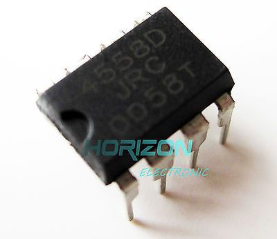 >> Click to Buy << 10pcs JRC4558D RC4558D 4558D IC ICs DIP- 8 pin Low Power For TS9 TS808 #Affiliate