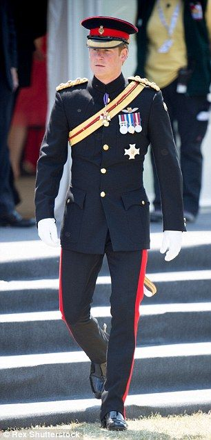 Prince Harry is leaving the Army today after a decade-long military career including two tours of Afghanistan - 19th June 2015