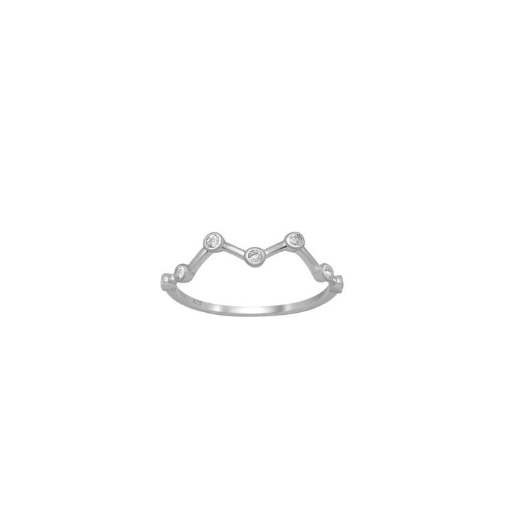 In the Stars Ring -Wear this ring as a reminder that life is more than what is just in front of you.  Look up sweet soul. There is always a bigger picture, a bigger plan for your life and sometime you have to look up to the stars to trust your path.