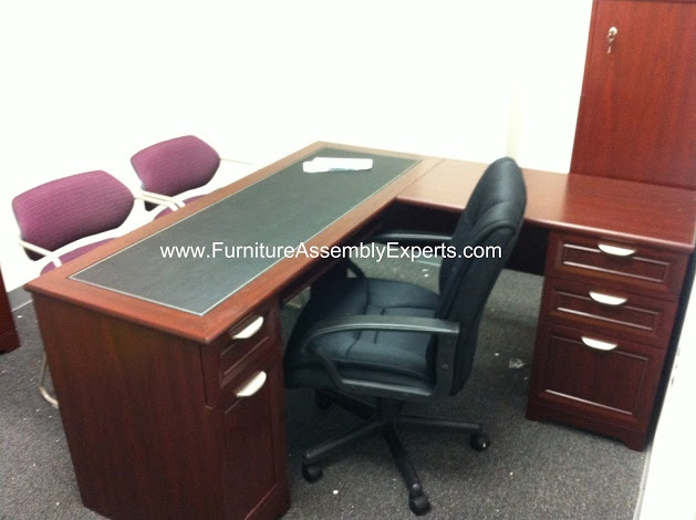 Realspace Magellan L Shaped Desk Assembled In Washington