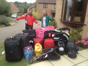Australia -Oxford - London, Egypt- Hurghada -Cairo - Australia: Two Triathletes competing in the Triathlon World Championships, Two Kids and...