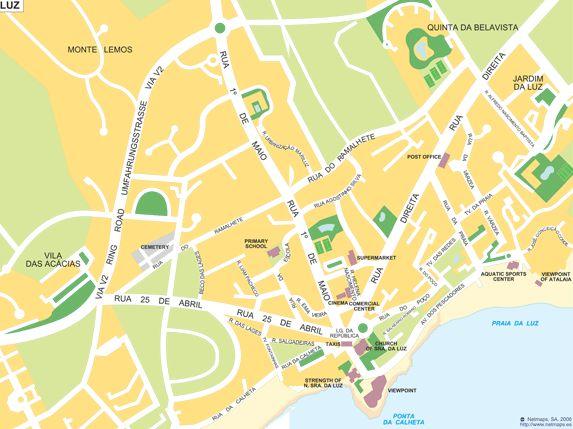 The Best Praia Da Luz Ideas On Pinterest Porto Portugal - Praia map