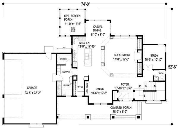 Striking Design With Open Floor Plan